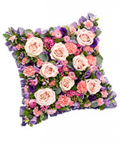 Mixed Flower Cushion