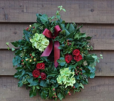 Holly & Ivy Wreath