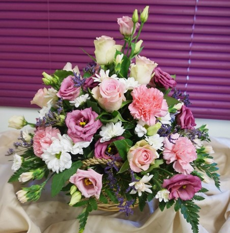 Enchanting Basket Arrangement