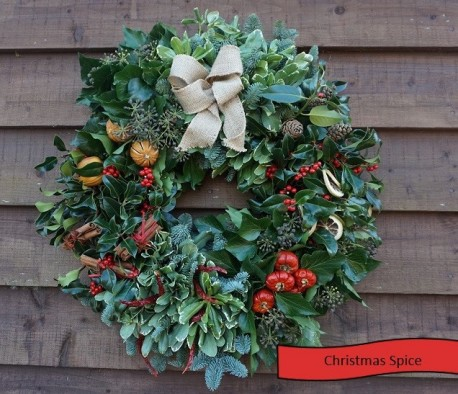 Christmas Spice Wreath
